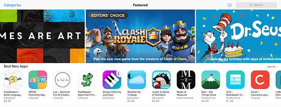 iOS-10-App-Store