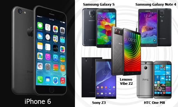 Действительно, достойные конкуренты iPhone 6 на сегодняшний момент