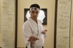 Ralph Macchio in Netflix's Cobra Kai.